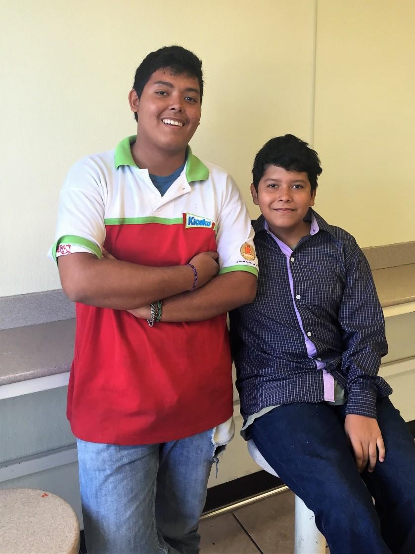 Alfredo &Brian