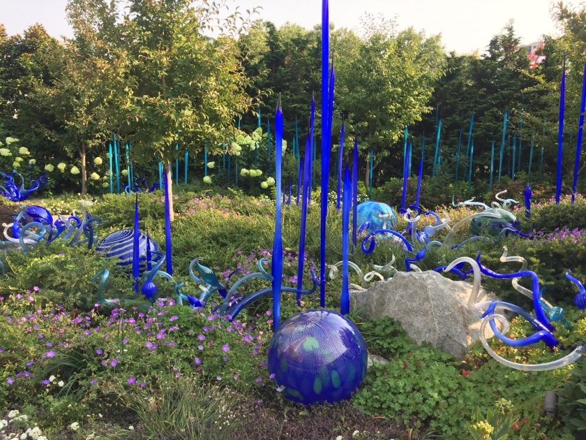 blue chihuly